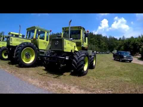 mb trac und unimog treffen wullendorf 2017 4k. Black Bedroom Furniture Sets. Home Design Ideas