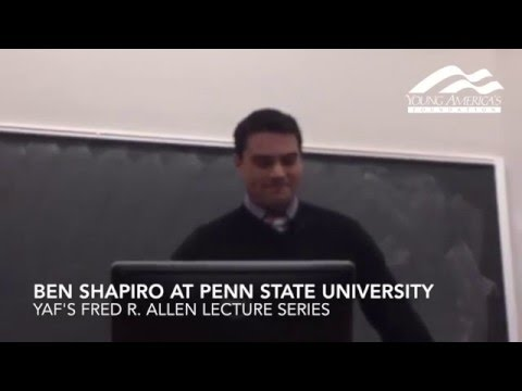 Ben Shapiro at Penn State University