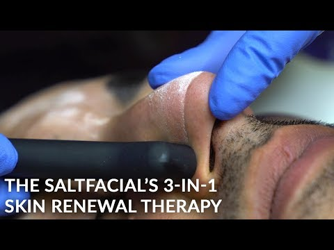 The Salt Facial | 3-in-1 Treatment to Exfoliate, Hydrate and Rejuvenate  | Dr. Jason Emer