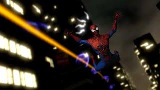 The Amazing Spiderman 2 - Free Roam Night Gameplay