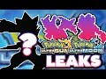 POKEMON ULTRA SUN & ULTRA MOON NEW LEAKS!? (SPOILERS!!!)