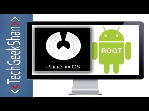 Phoenix OS 1.0.4 | Install-Root-Fix GApps-Access Windows Partition