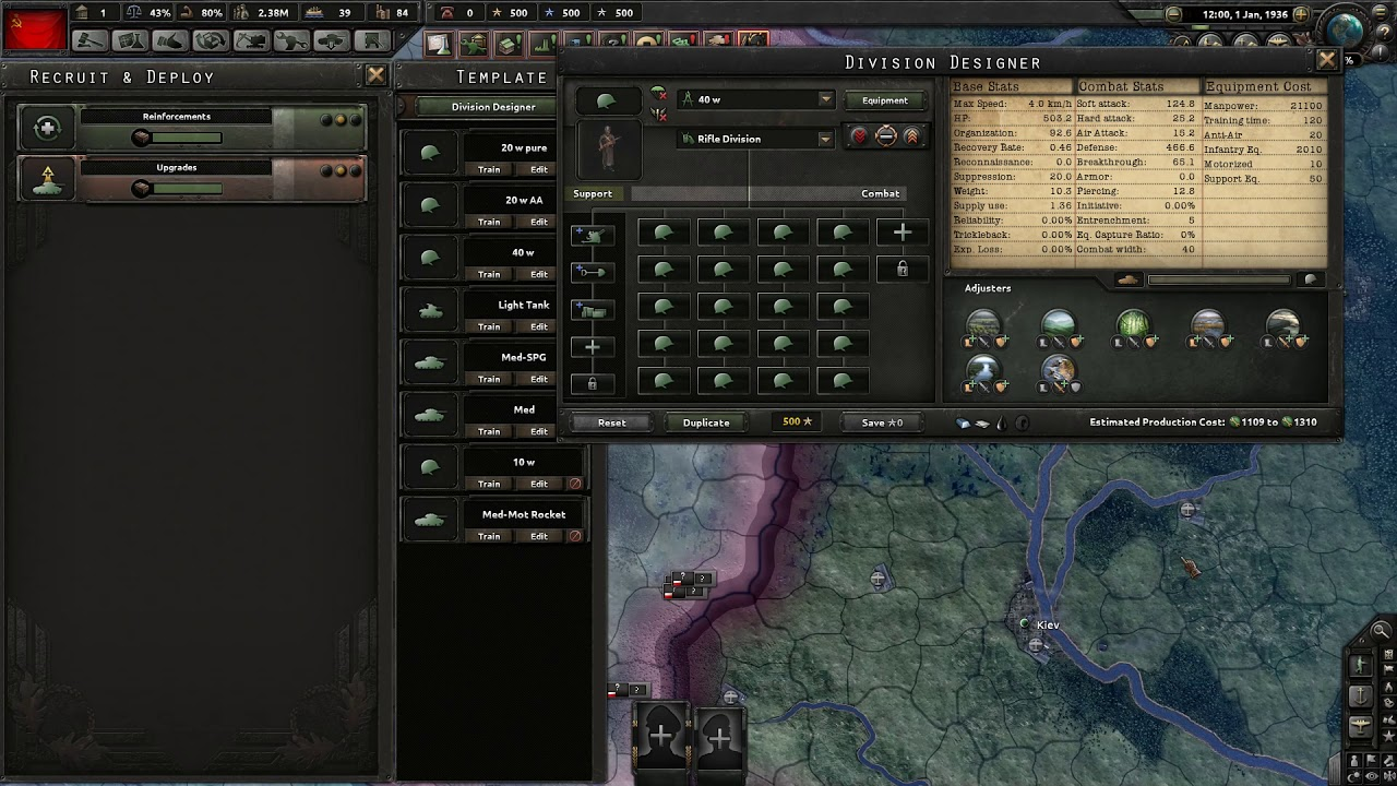 HOI 4 Waking the Tiger - Mobile Warfare Template Guide