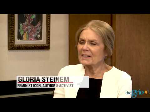 """Gloria Steinem: """"If it's white, it can't be feminism"""""""