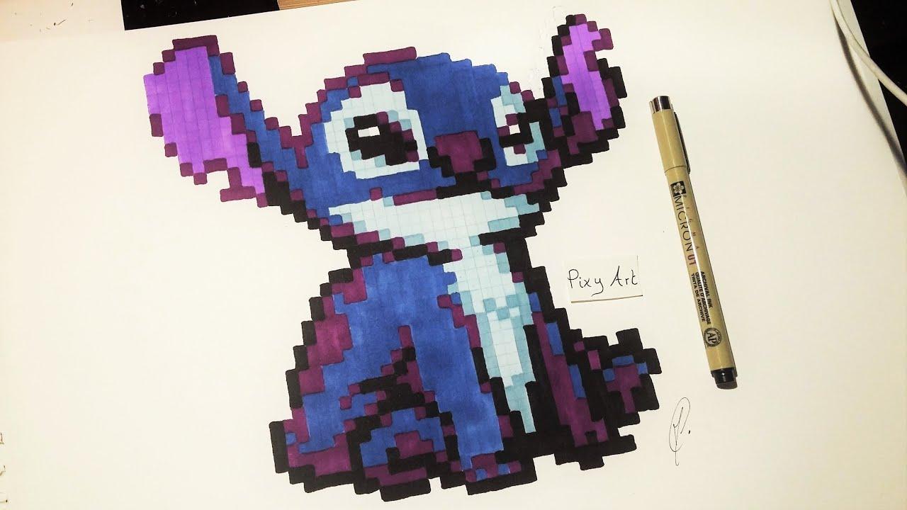 Stitch Drawing Pixel Art