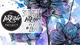 ANÉMONAS | 31 Días de INKTOBER #26