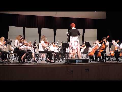 Eastview Middle School 8th Grade Orchestra Concert Badinerie J S  Bach v2