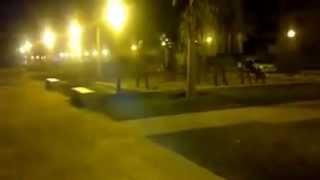 Fantasma en parque de Argentina
