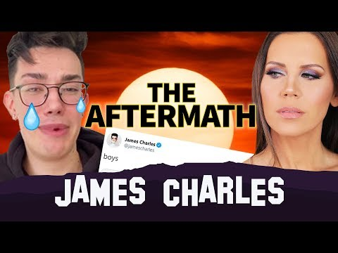 JAMES CHARLES  The AFTERMATH  The  Tati Drama