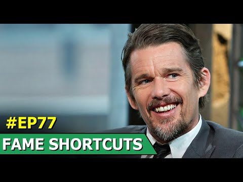 Ethan Hawke | American Actor | Broadway Plays | Fame Shortcuts | Ep 77