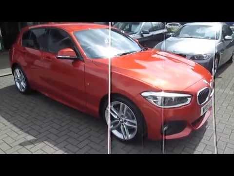 BRAND NEW 2015 BMW 1 SERIES 120d M SPORT VALENCIA ORANGE