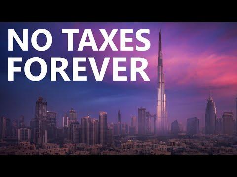 Why Dubai Will Never Need Taxes