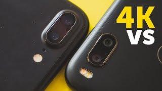 Xiaomi Mi A1 vs iPhone 7 Plus 4K сравнение видео с камеры (4K 30 FPS video test compare)