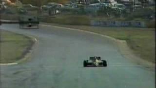 Keke storms to the finish at Kyalami 1985