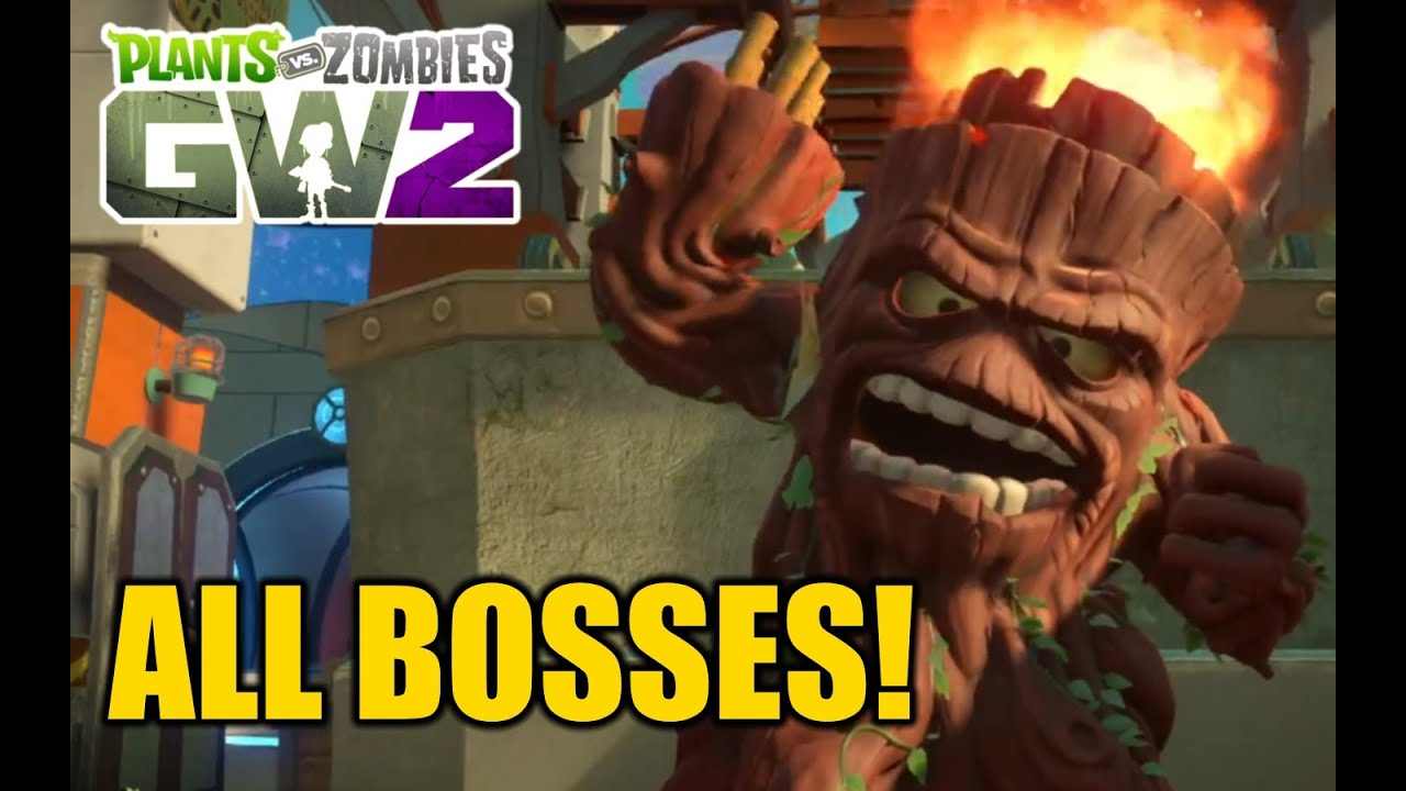 Plants vs Zombies Garden Warfare 2 - All New Bosses - Gargantuar ...