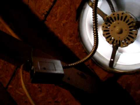 Testing and adjusting a power attic ventilator. A Wise Inspector Mississippi & Testing and adjusting a power attic ventilator. A Wise Inspector ...