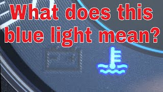 What is the Blue Light on my Subaru Dashboard?