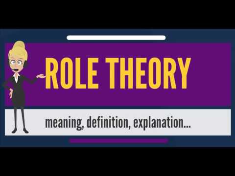 What is ROLE THEORY? What does ROLE THEORY mean? ROLE THEORY meaning & explanation