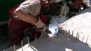 Изготовление трехслойной стеновой панели из СФБ(Изготовление трехслойной стеновой панели из стеклофибробетона (СФБ). ООО