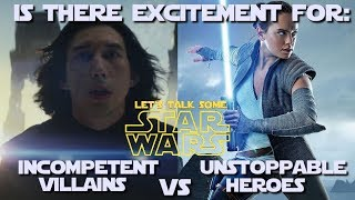 Episode IX is a little over a year away... are you excited for it?  (Let's Talk Some Star Wars)