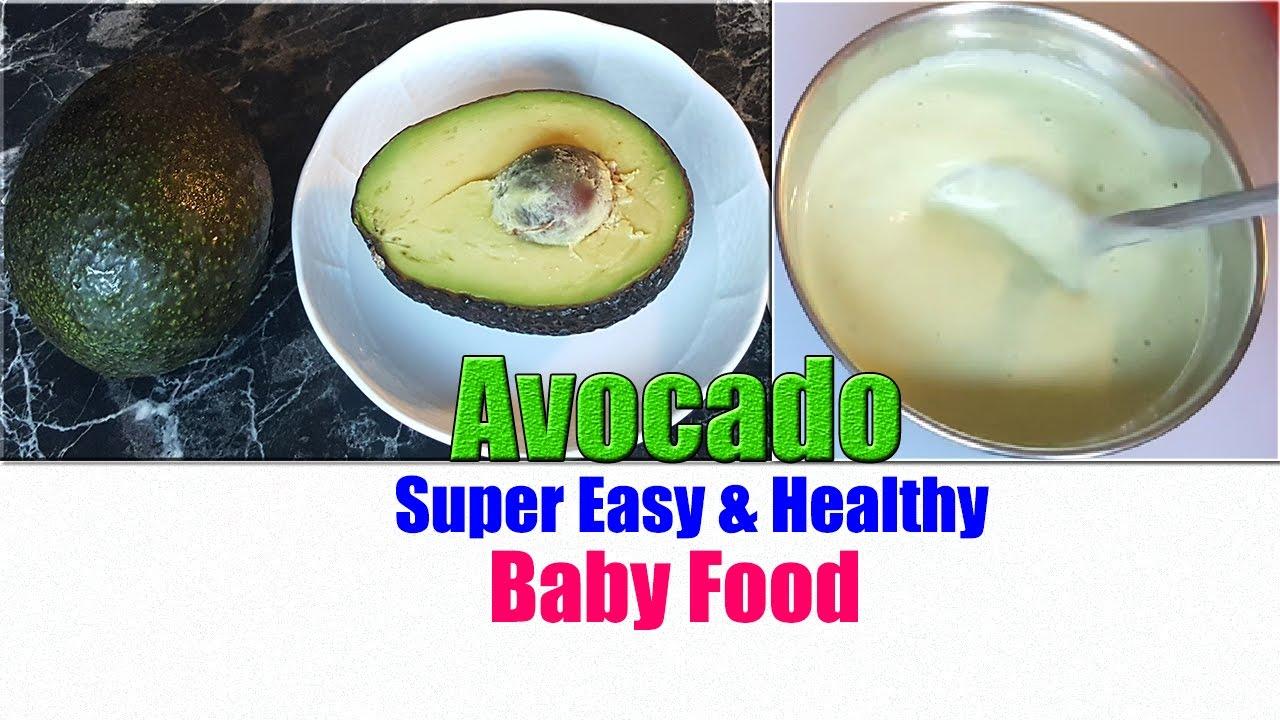 Organic Avocado Baby Food