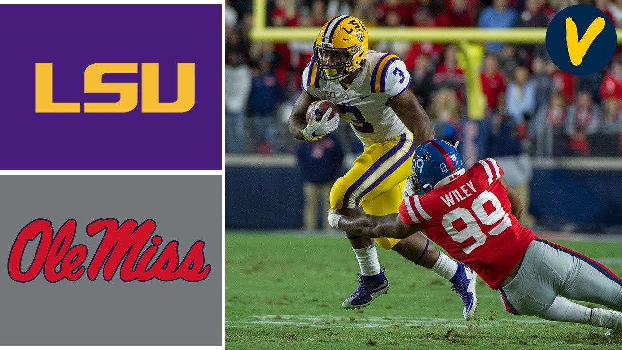 #1 LSU vs Ole Miss Highlights | Week 12 | College Football | 2019