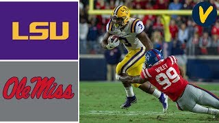 #1 LSU vs Ole Miss Highlights | Week 12 | College Football | 2019