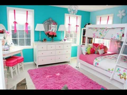 Turquoise Girls Room ideas - YouTube