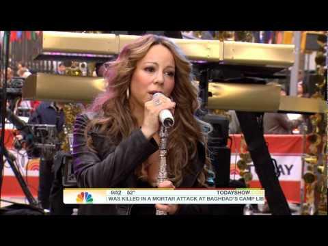 Mariah Carey  HATEU Acapella  at Today Show
