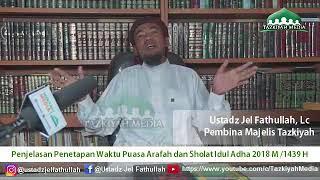 Download Video Penjelasan Penetapan Waktu Puasa Arafah dan Sholat Idul Adha 2018 - Ustadz Jel Fathullah, Lc MP3 3GP MP4