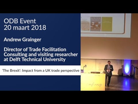 ODB event 2018: The Brexit impact from a UK trade perspective