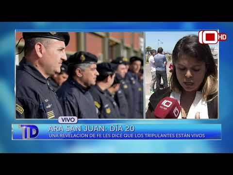ARA San Juan, día 20: La familia exige que continúe la búsqueda y rescate