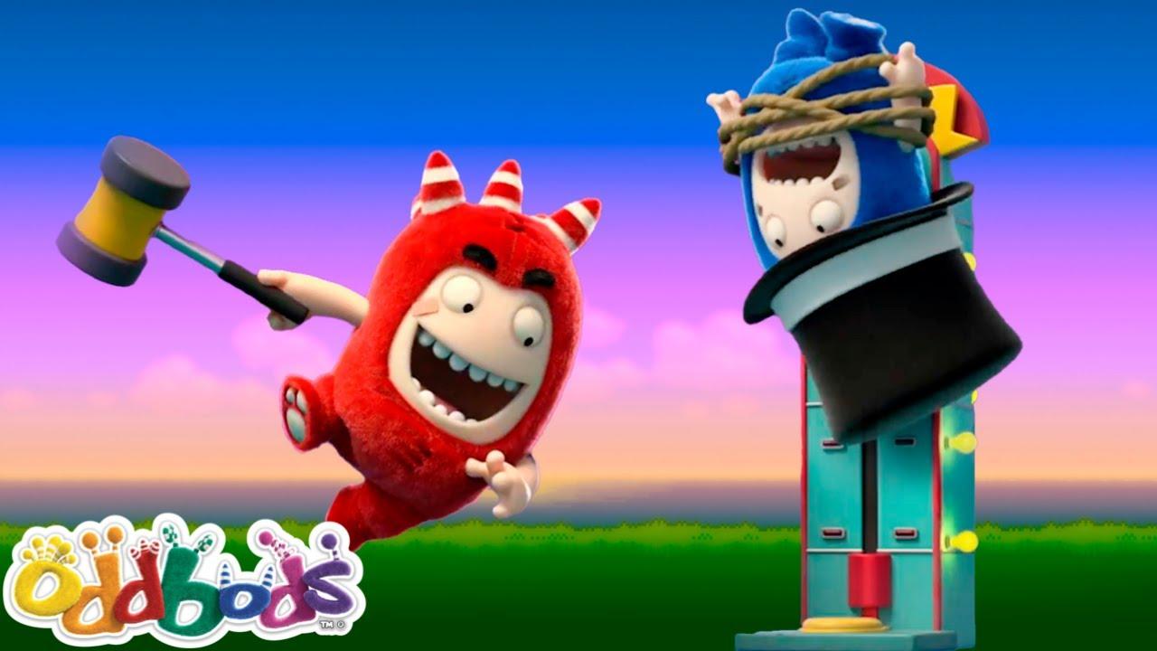 O Melhor Do Verão Está No Parque De Diversões | Oddbods | Desenhos Animados Engraçados Para Crianças