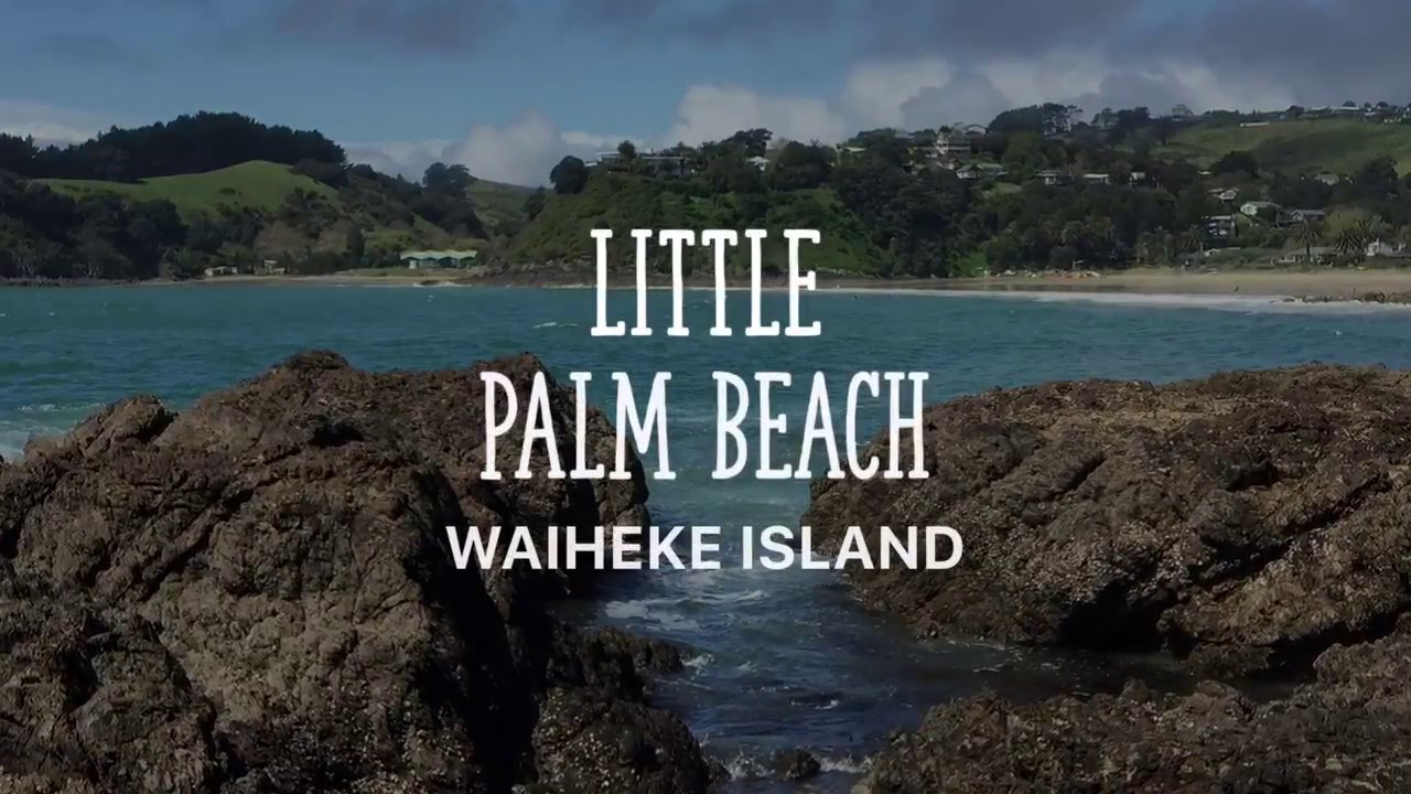 Little Palm Beach🏝 Waiheke Island, New Zealand