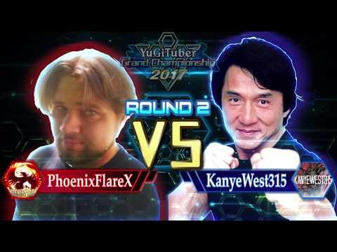 Yu-Gi-Oh! YugiTuber Grand Championship 2017 R2   PhoenixFlareX vs. KanyeWest315!