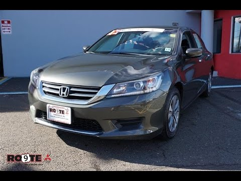 2013 Honda Accord Lx Sedan Youtube