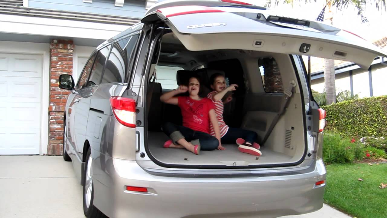 2012 Nissan Quest Power Lift Gate Youtube