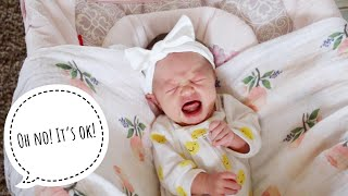 Jaidyn's First Time Babysitting Baby Sister Willa!!