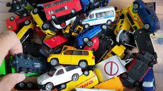 Box Full of Cars from toybox and play Cars video for kids