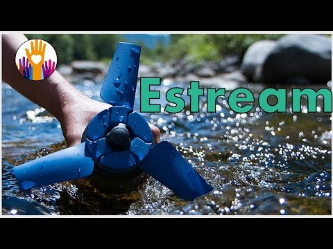 New invention Estream - A portable water power generator fit