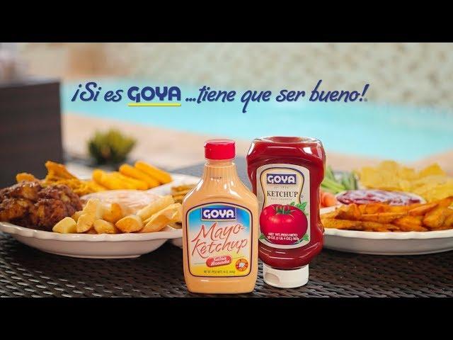 Ketchup & Mayoketchup Goya - 2018