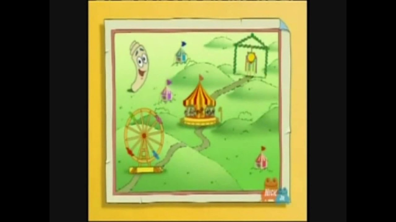 Dora The Explorer Map Song on