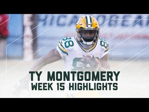 Ty Montgomery's 2 TD Day! | Packers vs. Bears | NFL Week 15 Player Highlights from YouTube · Duration:  2 minutes 42 seconds