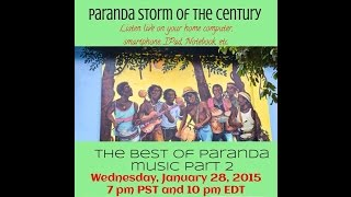 Garifuna Music & Talk With DJ Labuga Presents The Paranda Storm of the Century