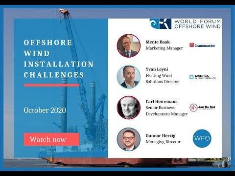 WFO Webinar: Offshore Wind Installation Challenges