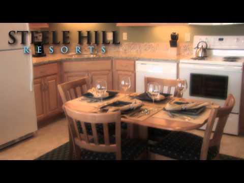 New Hampshire Accommodations - Steele Hill Resorts Studio Unit South