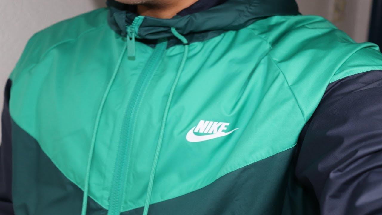 75d7addeea81 Mens nike Sportswear Windrunner (Neptune Green) WINTER EDITION! i ...
