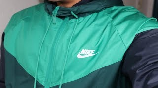 Mens nike Sportswear Windrunner (Neptune Green) WINTER EDITION! i