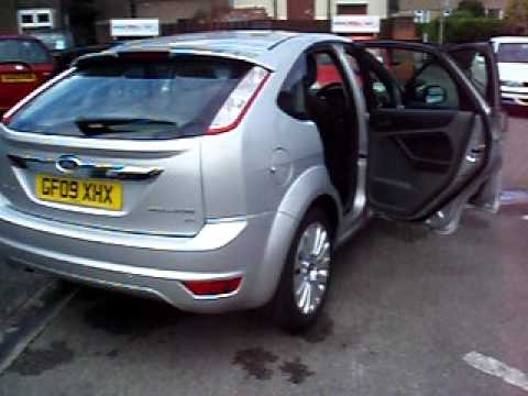 wirral small cars 2009 ford focus 100 titanium youtube. Black Bedroom Furniture Sets. Home Design Ideas