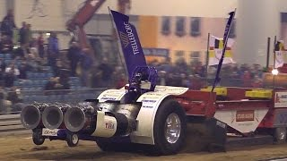 3 X HELICOPTERS TURBINE POWERED MONSTER TRACTOR 6000 PS BRUTAL POWERFUL MACHINE TRACTORPULLING RIESA